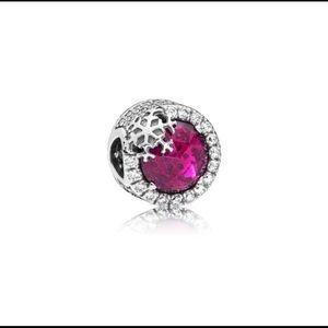 Jewelry - Pandora Dazzling Snowflake Charm Cerise,797555NCC